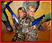 Knop Kinder Paintball
